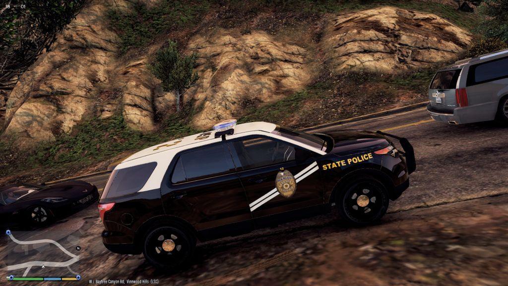 Black Ford Explorer >> New Mexico State Police Ford Explorer Texture - GTA5-Mods.com