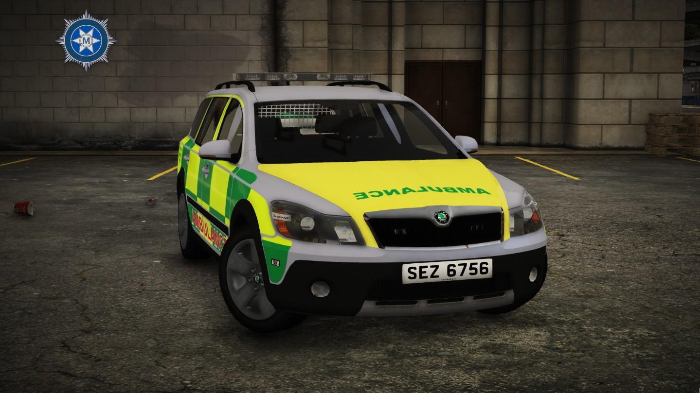 2010 Skoda Octavia Scout Ambulance [RRV] [ELS] [NIAS ...