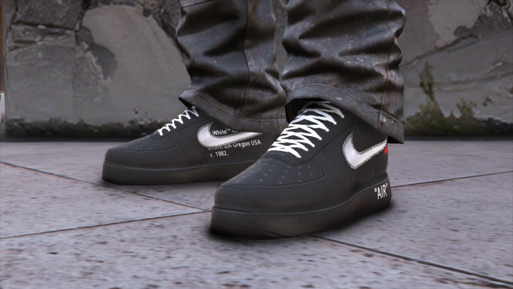 Nike Air Force 1 Low X Off White X Moma Gta5 Mods Com