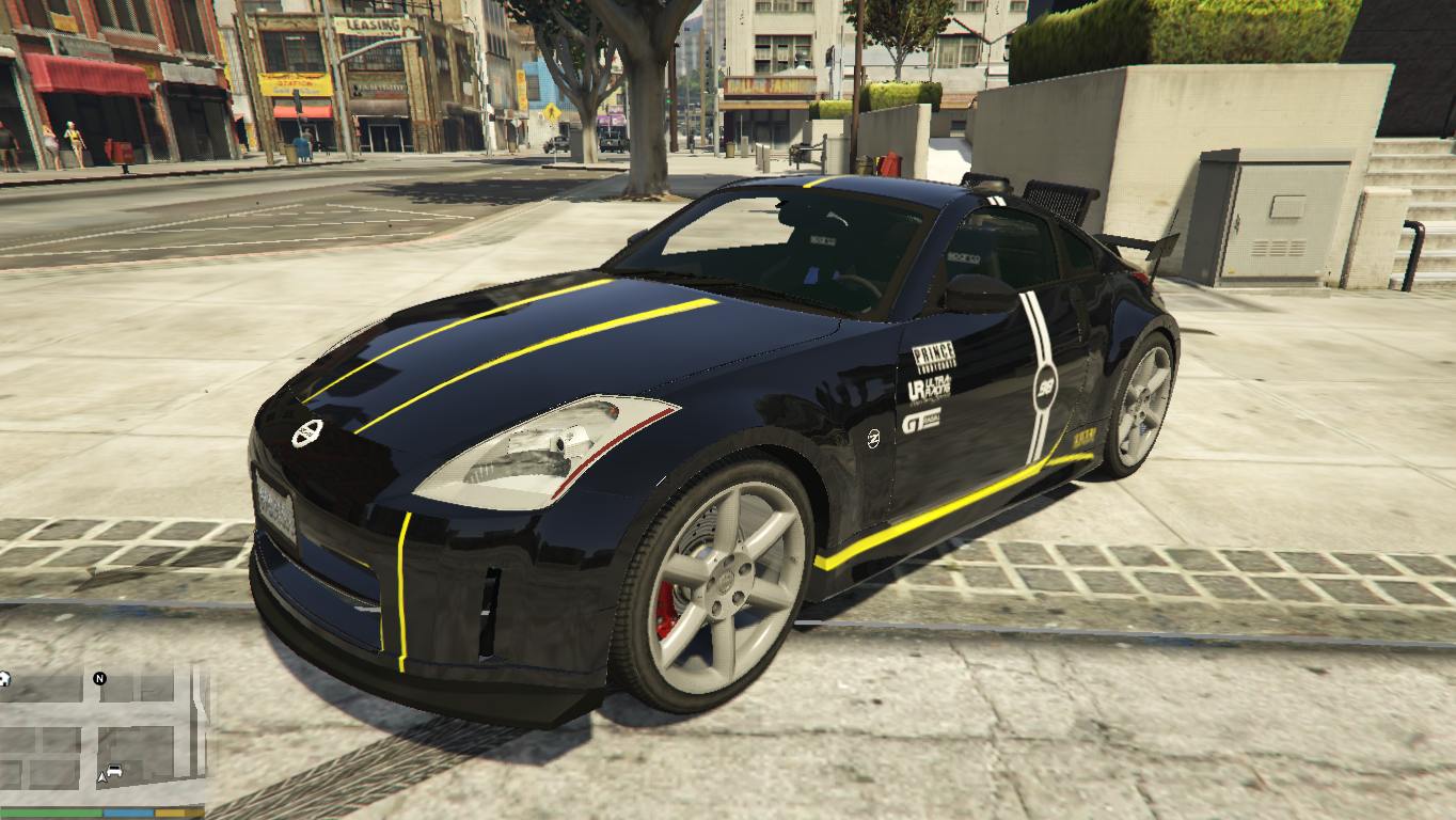 nissan 350z skin from polis evo malaysia gta5. Black Bedroom Furniture Sets. Home Design Ideas