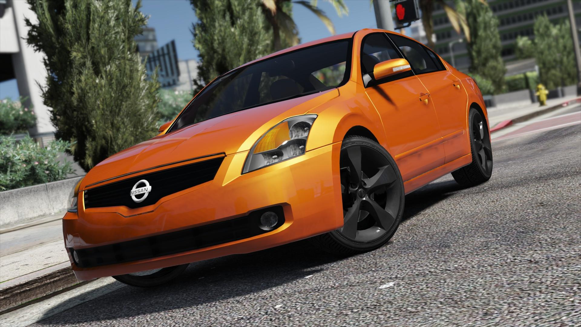 Nissan Altima 3.5SE [Add-On / Replace | Template] - GTA5 ...