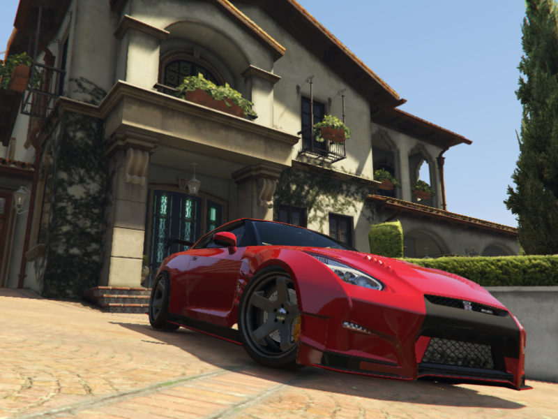 Realistic Handling U0026 Top Speed For YCA Y97yu0027s 2015 Nissan GT R    GTA5 Mods.com
