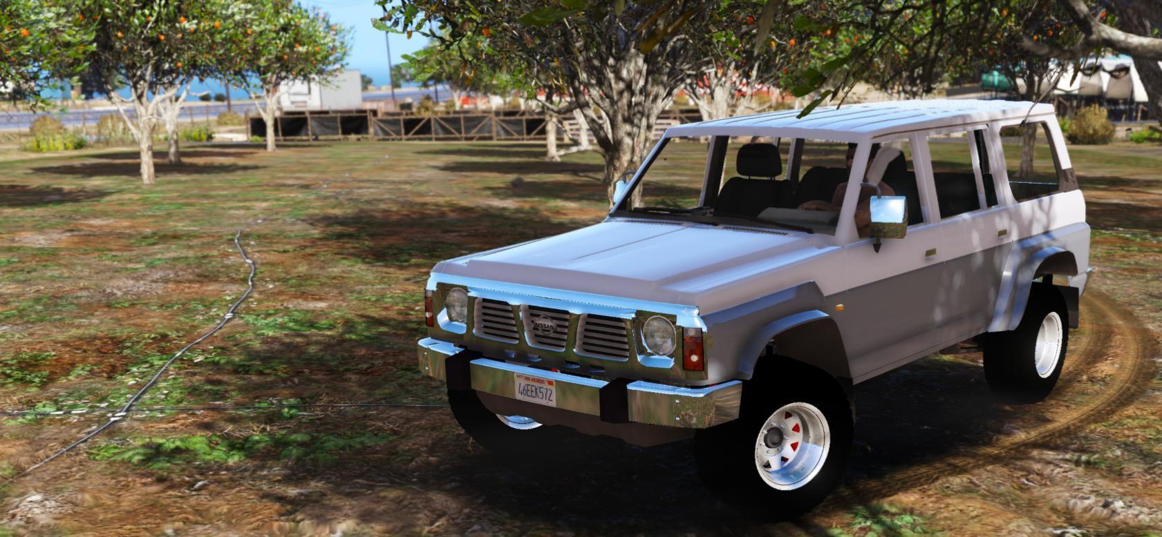 nissan patrol safari y60 off road 1996 replace 8 extras gta5. Black Bedroom Furniture Sets. Home Design Ideas