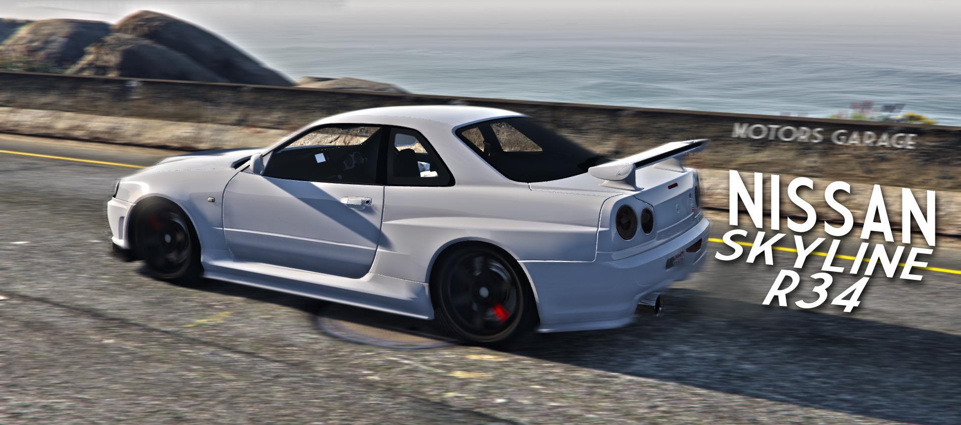 Nissan Skyline GTR R34...