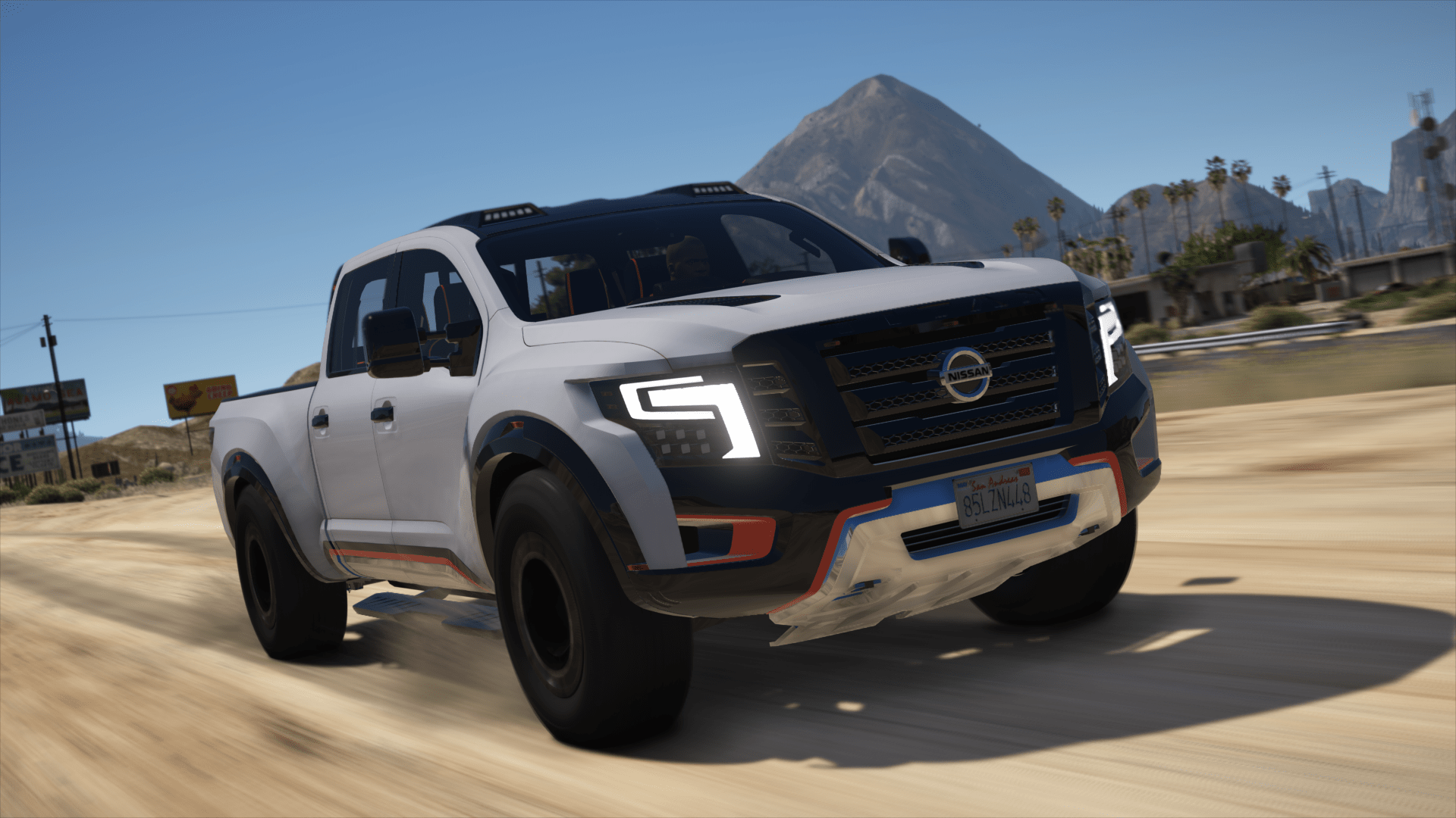 Nissan Titan Warrior 2017 Add On Replace Gta5 Mods Com