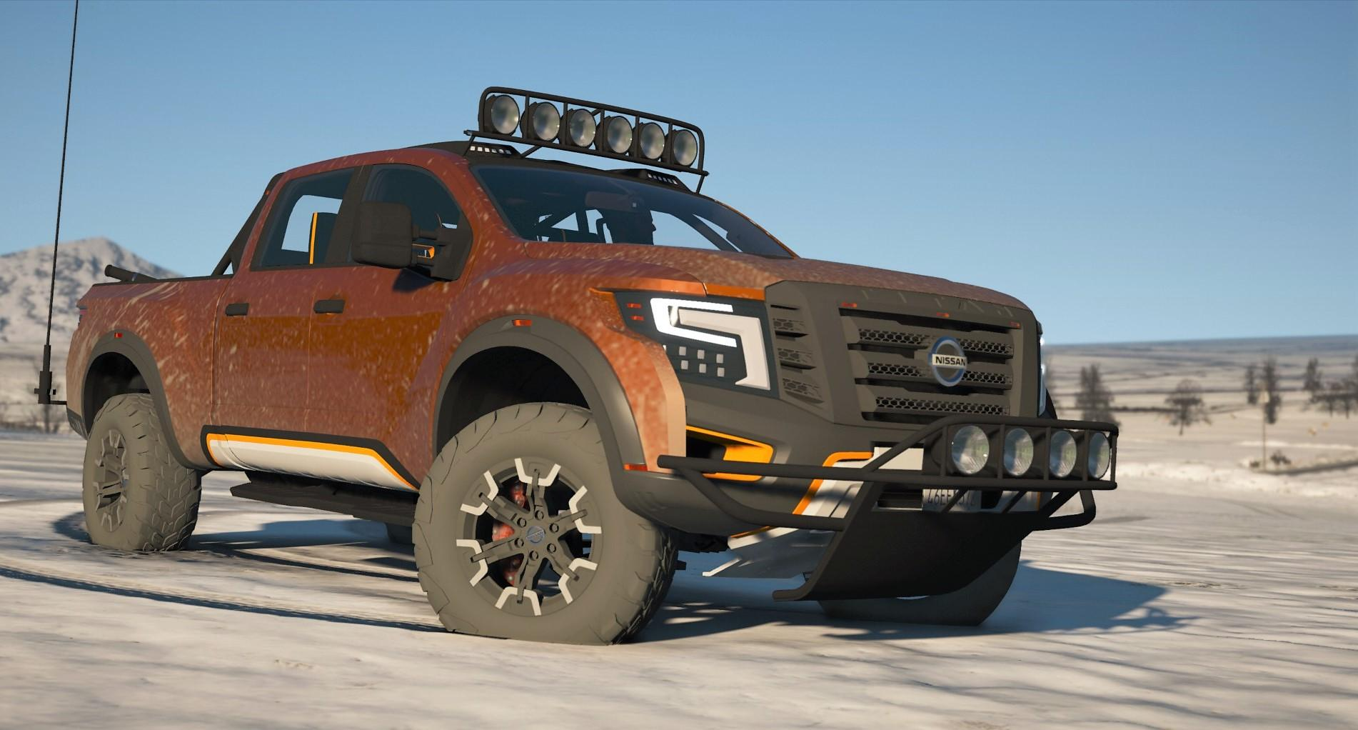 Nissan Titan Warrior 2017 Add On Replace Extras Template Tuning Gta5 Mods Com