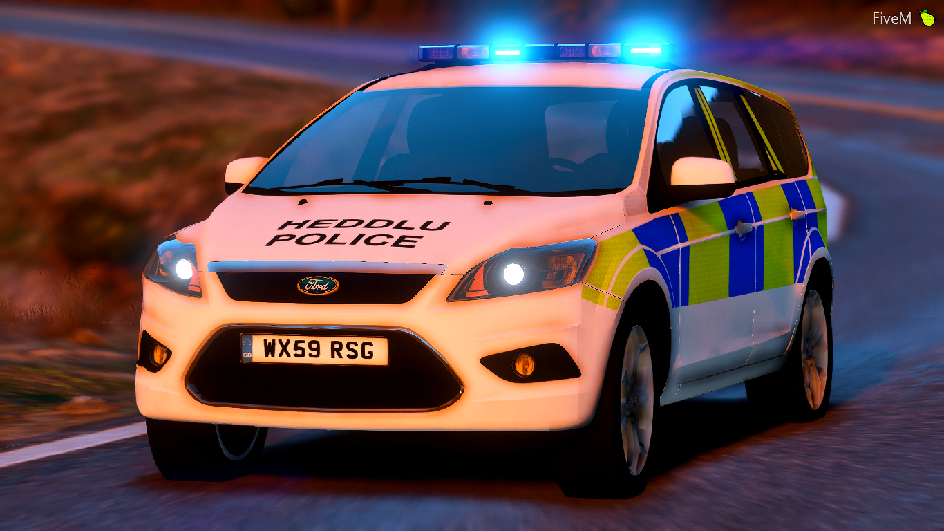 north wales police 2011 ford focus estate irv gta5. Black Bedroom Furniture Sets. Home Design Ideas