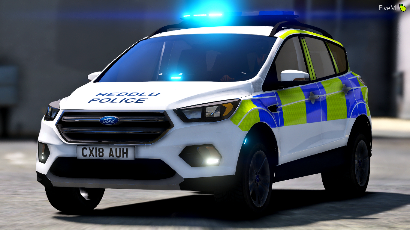 north wales police 2018 ford kuga irv gta5. Black Bedroom Furniture Sets. Home Design Ideas
