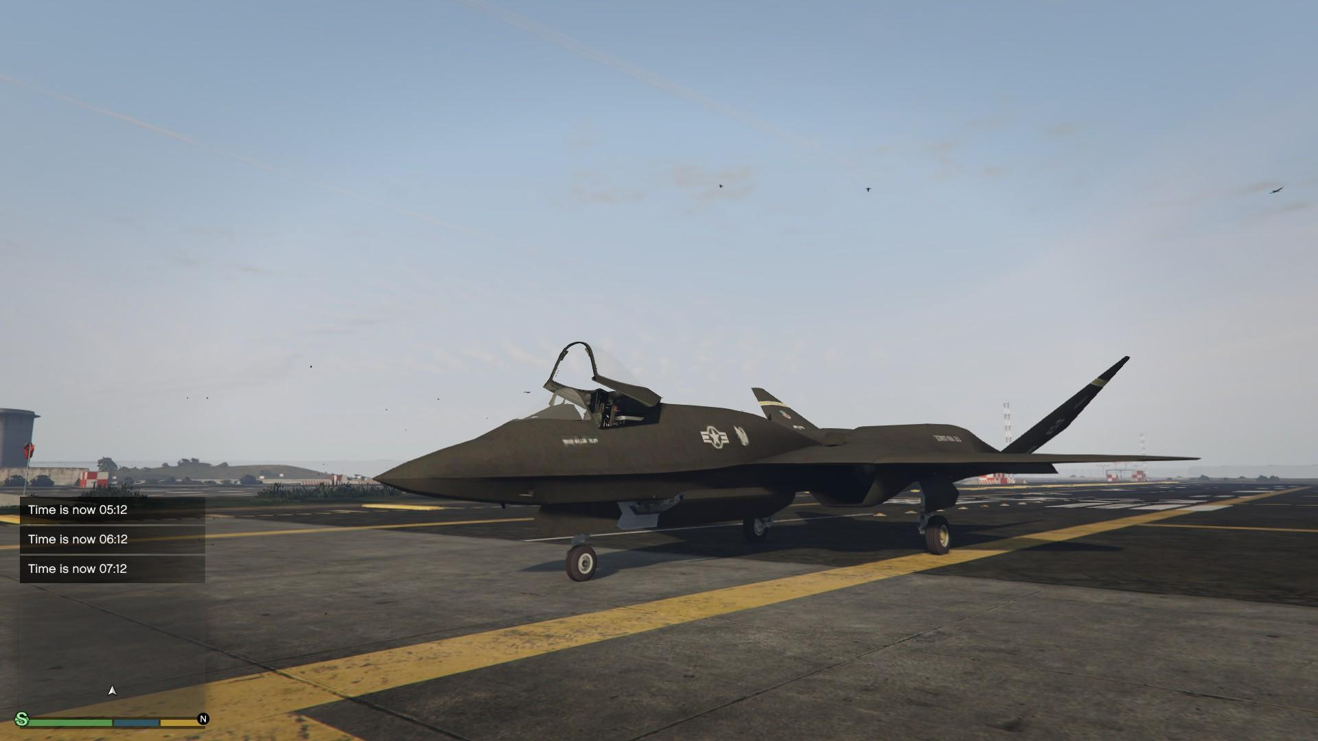 Northrop Mcdonnell Douglas Yf 23 Add On Replace Gta5