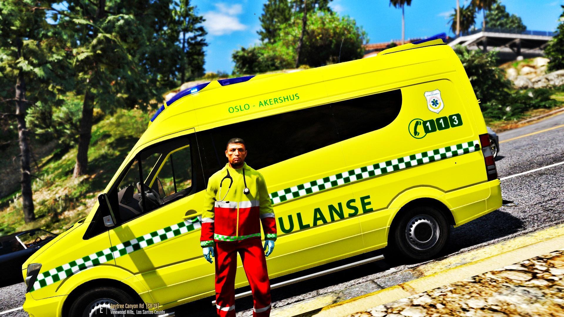 Norwegian Paramedic Uniform Gta5 Mods Com