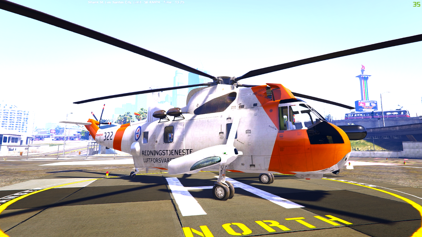 norwegian seaking helicopter sar gta5. Black Bedroom Furniture Sets. Home Design Ideas