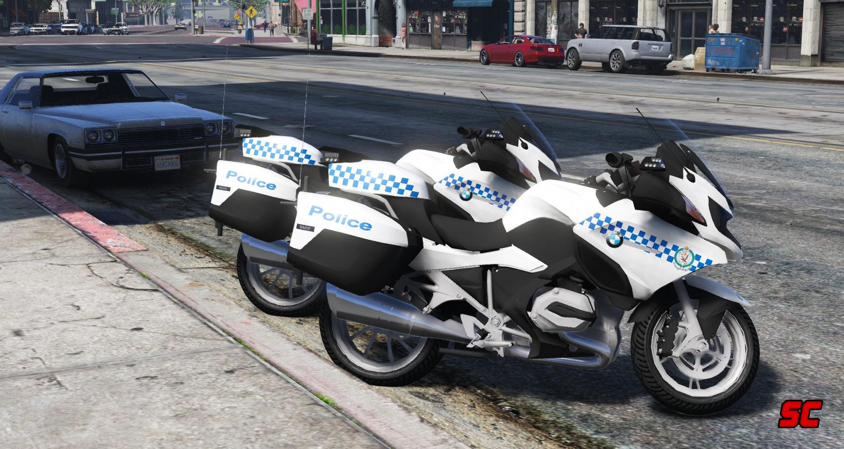 Nsw Police Skin For Bmw R1200rt Gta5 Mods Com