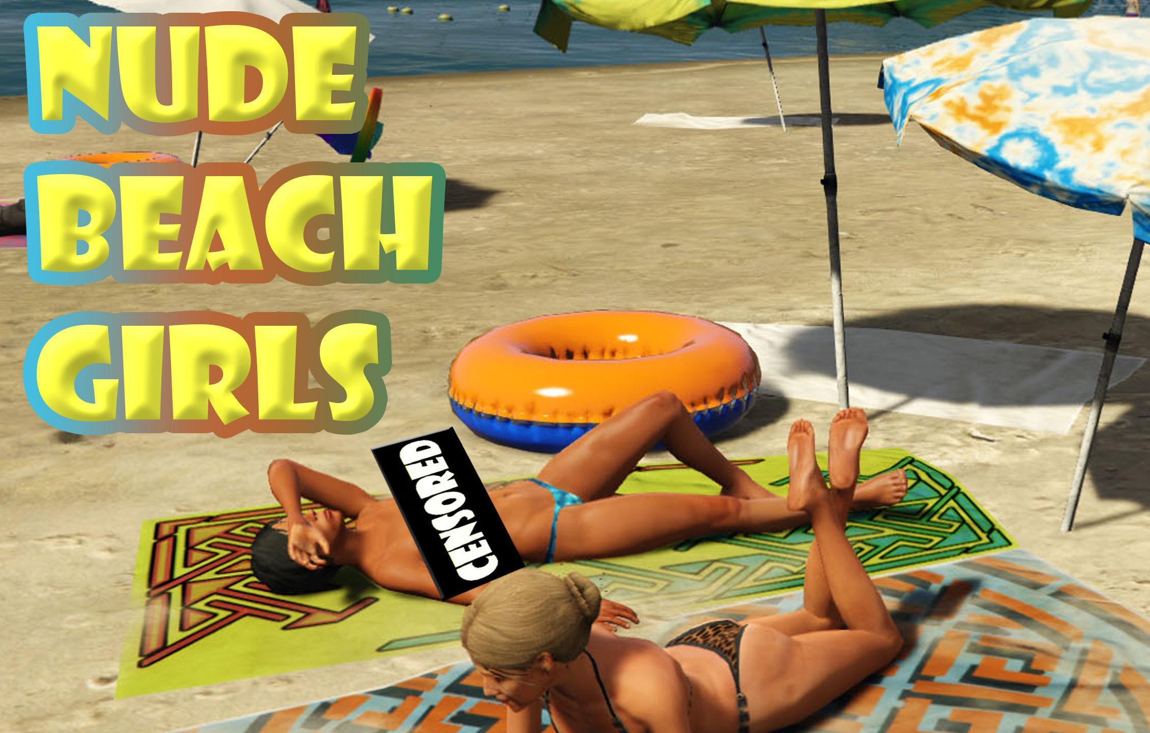 Nude Beach Girls 18 - Gta5-Modscom-6847