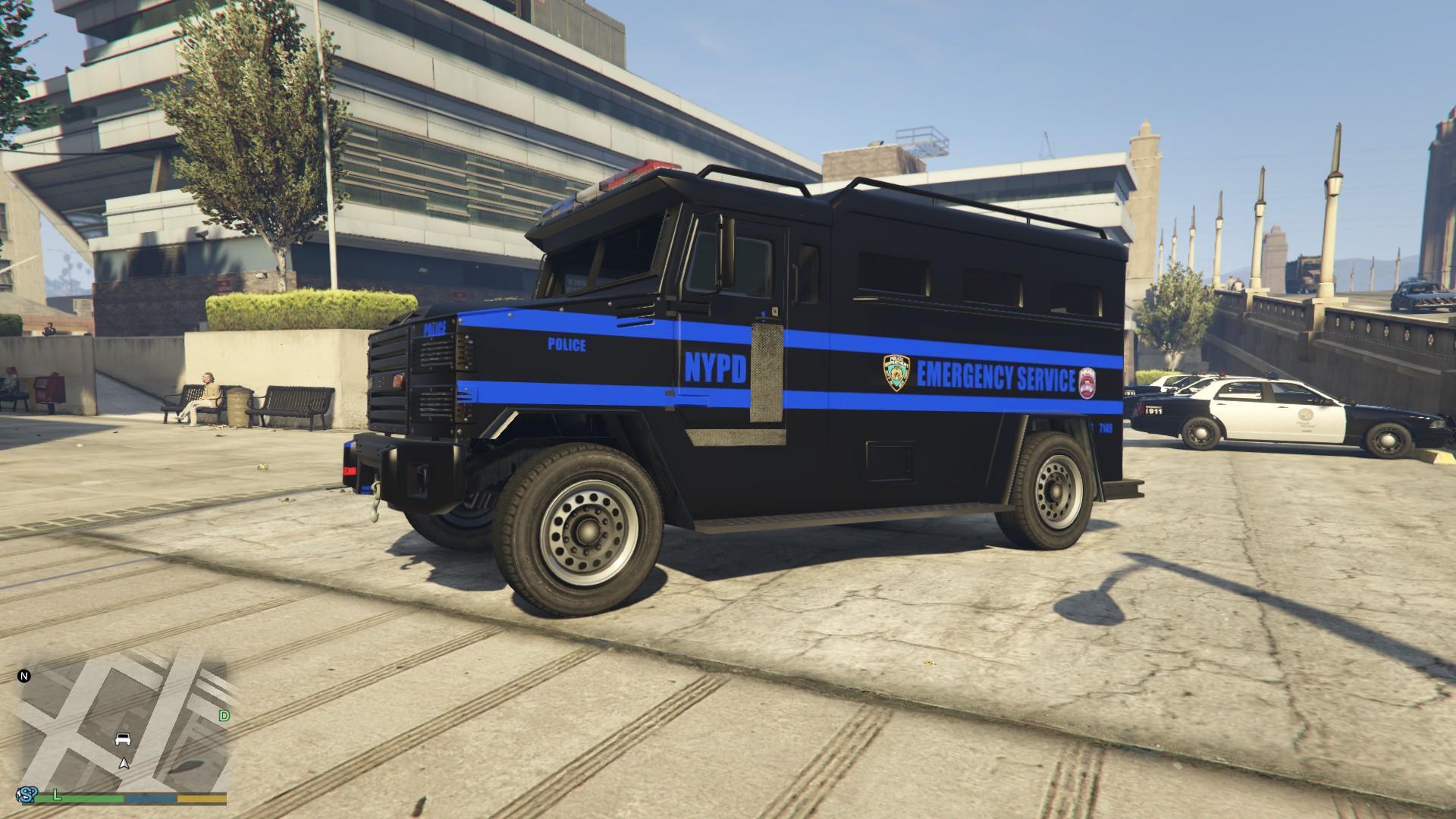 Gta 4 Swat Truck Cheat | gta 4 swat truck cheat nypd esu ...