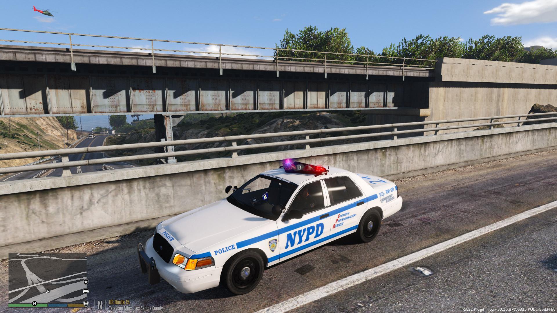 Nypd Highway Patrol Cvpi Gta5 Mods Com