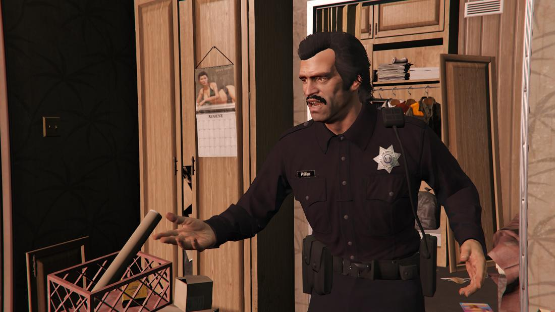 Officeru0026#39;s and Sheriffu0026#39;s Outfits for Trevor - GTA5-Mods.com