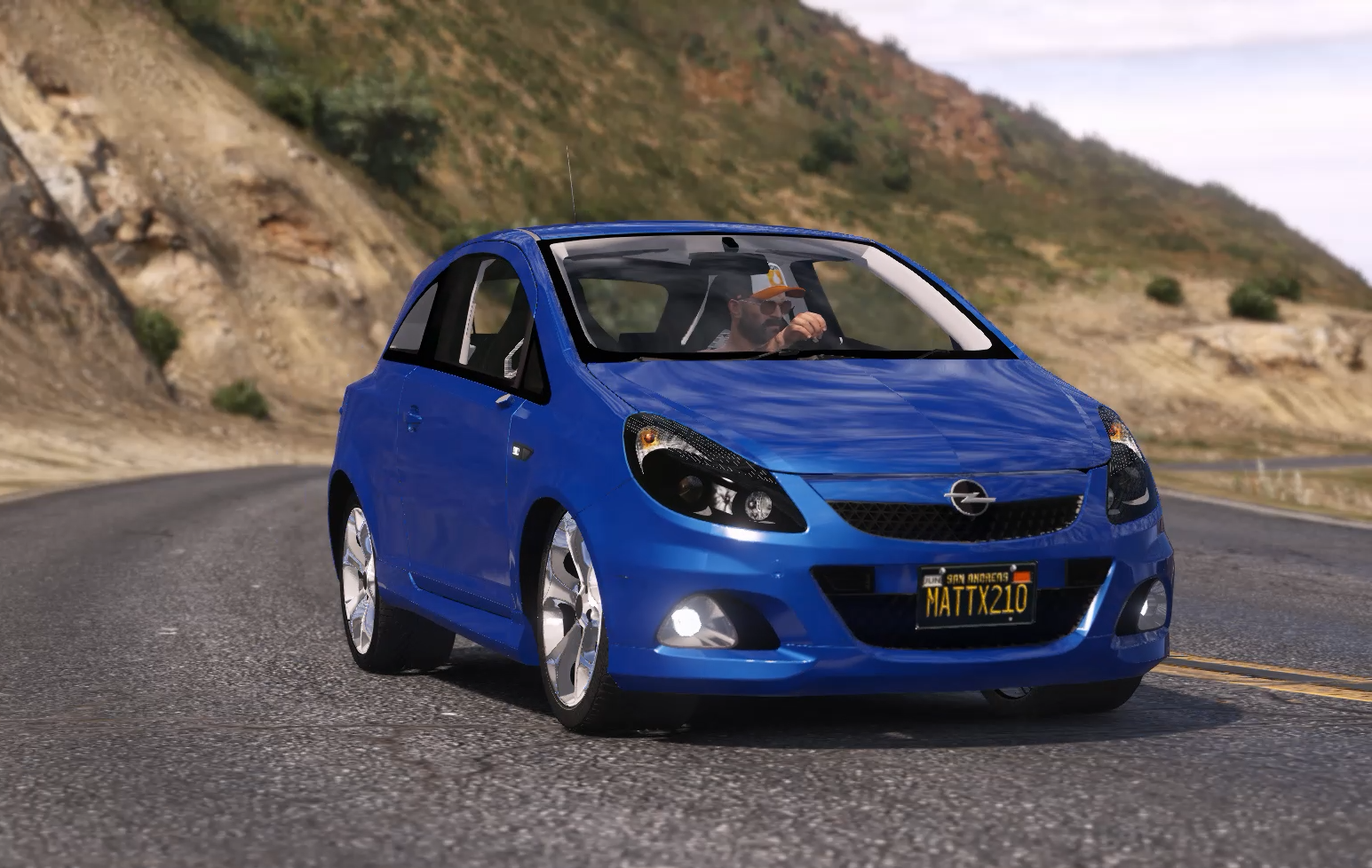 opel corsa d opc replace add on tuning 1 1 gta5. Black Bedroom Furniture Sets. Home Design Ideas