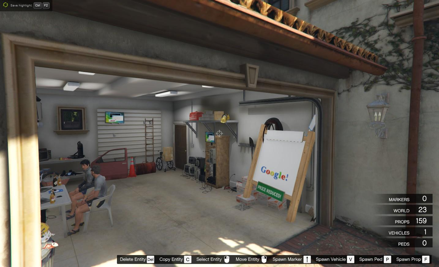 Original startup google garage 1998 michael gta5 for A 1 garage