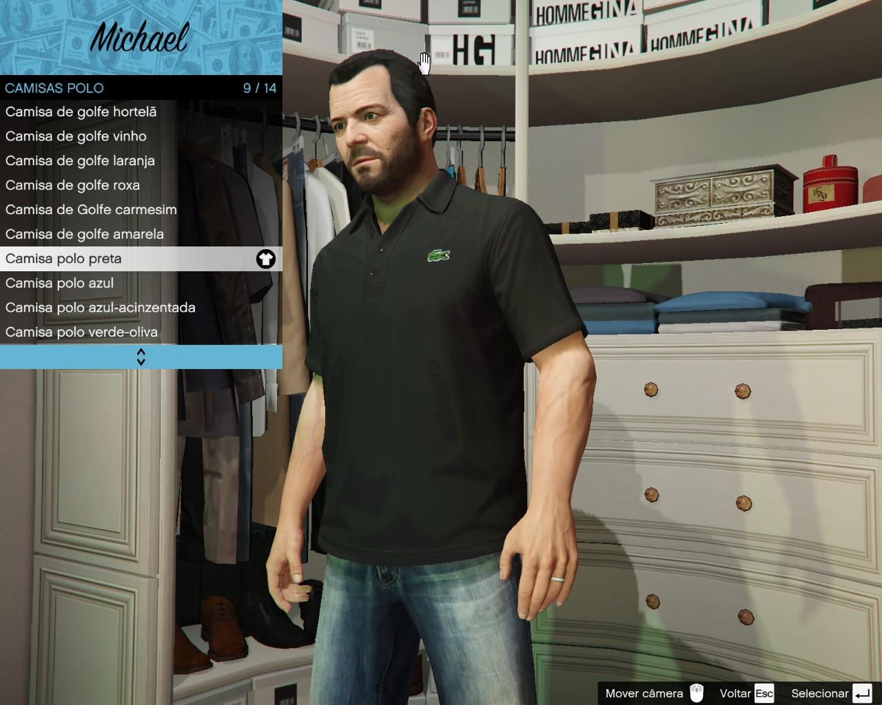 lacoste polo pack for michael gta5. Black Bedroom Furniture Sets. Home Design Ideas
