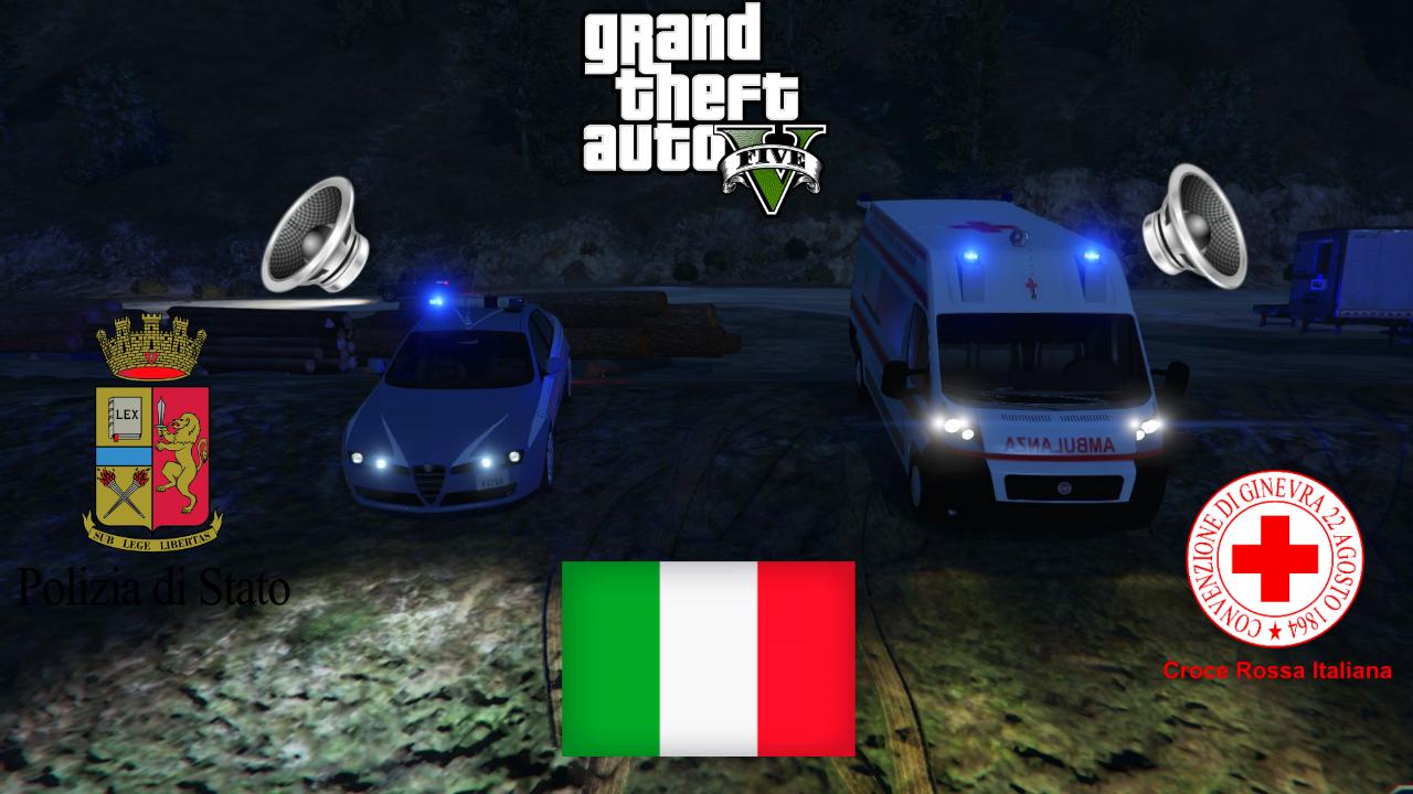 Pack sirene italiane els no els gta5 mods stopboris Gallery
