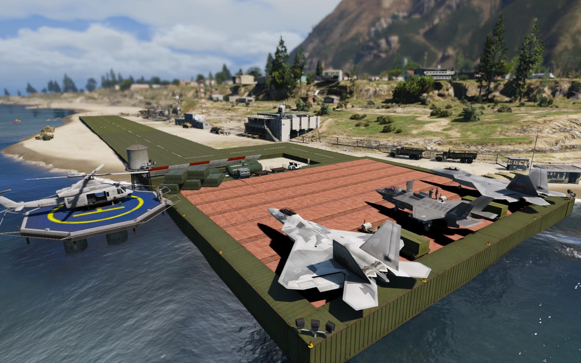 Paleto Bay Military Airport