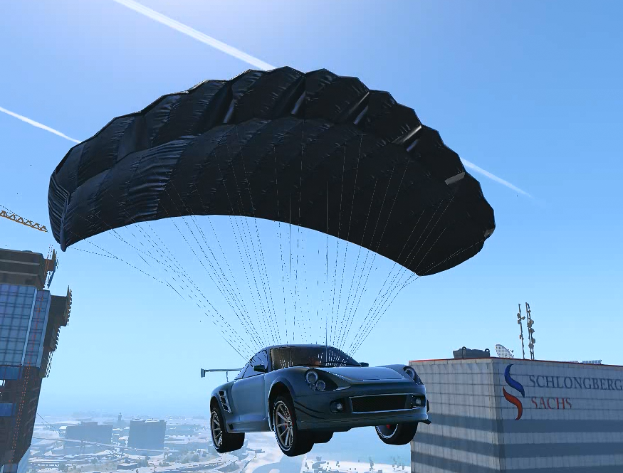 Parachute For All Civilian Vehicles Gta5 Mods Com