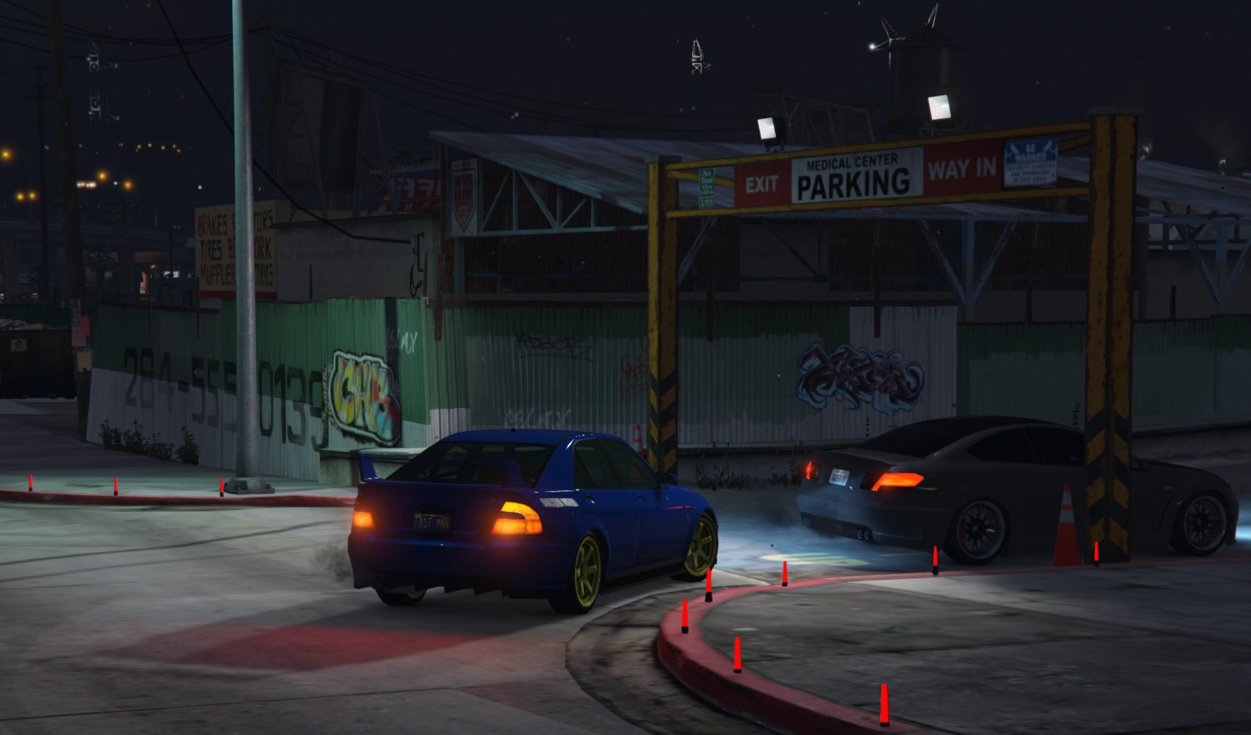 Parkhaus Drift - GTA5-Mods.com