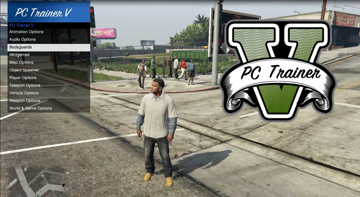 PC Trainer V - GTA5-Mods com