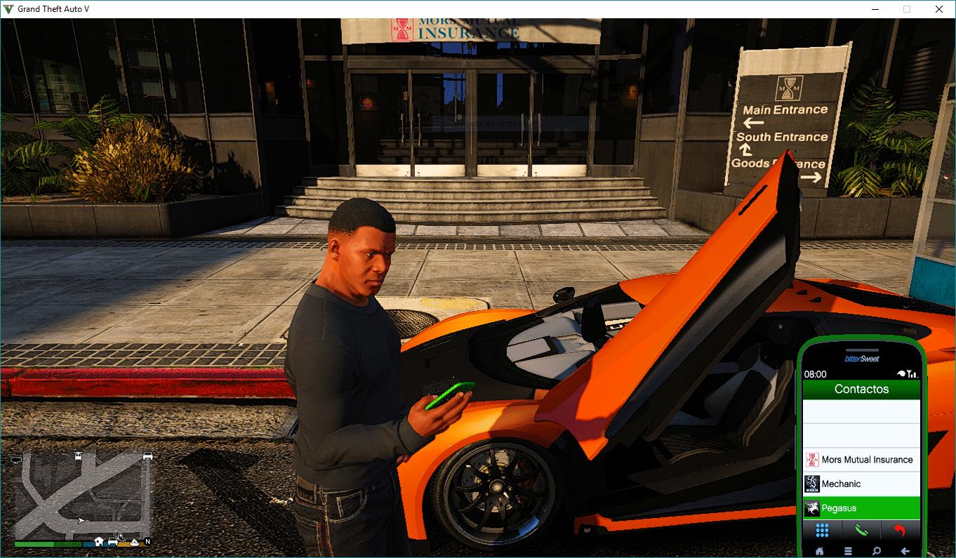 Personal Vehicle (Mors Mutuals Insurance, Mechanic and Pegasus