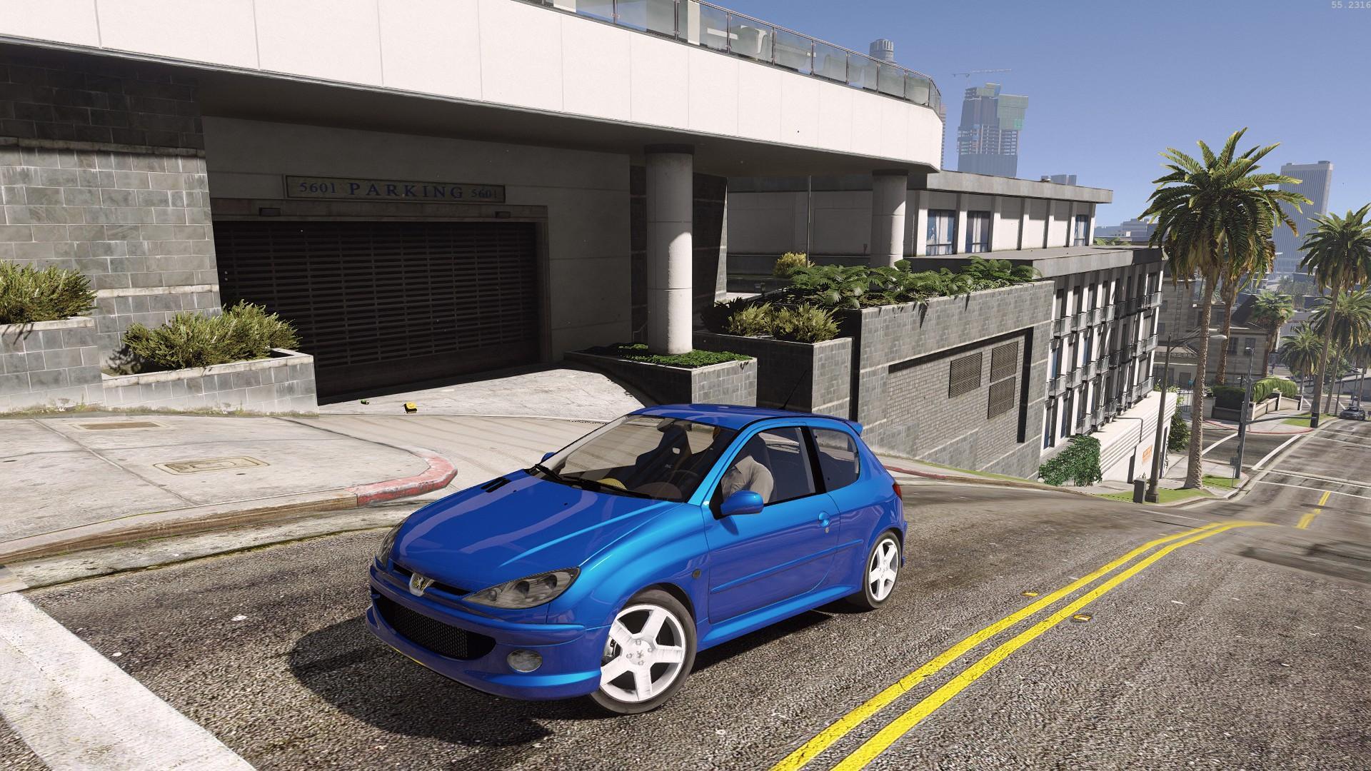 Peugeot 206 Rc Gti Add On Gta5 Mods Com