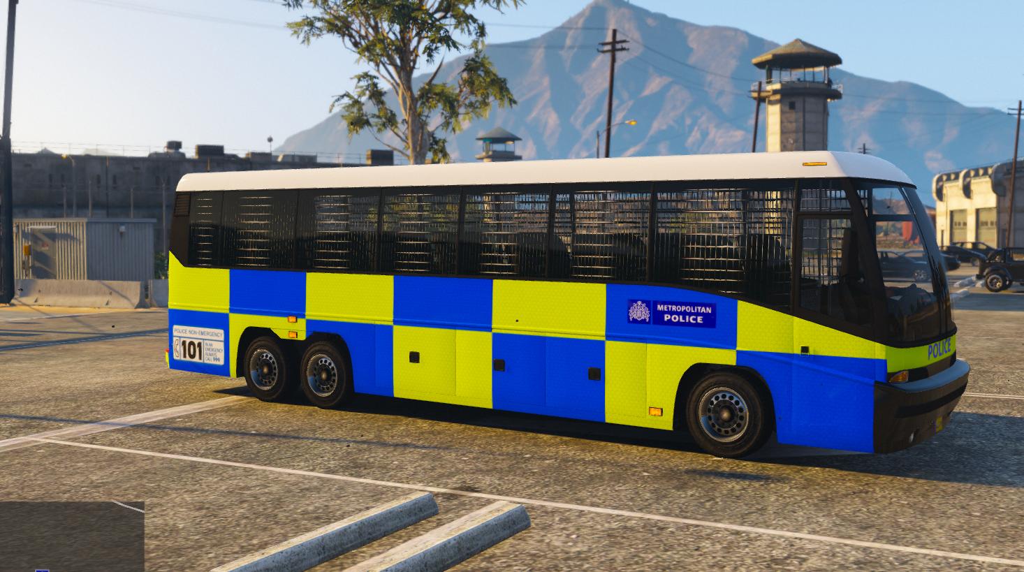 Metropolitan Police Bus Gta5 Mods Com