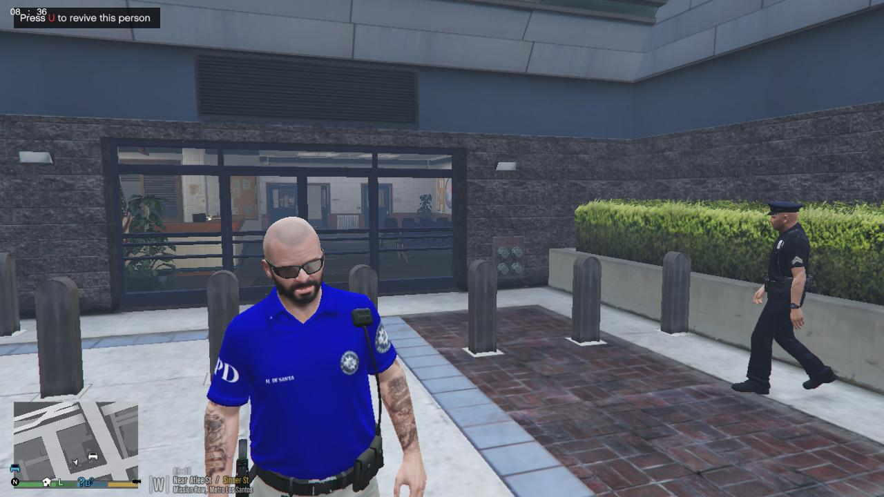 police polo shirt for michael gta5. Black Bedroom Furniture Sets. Home Design Ideas