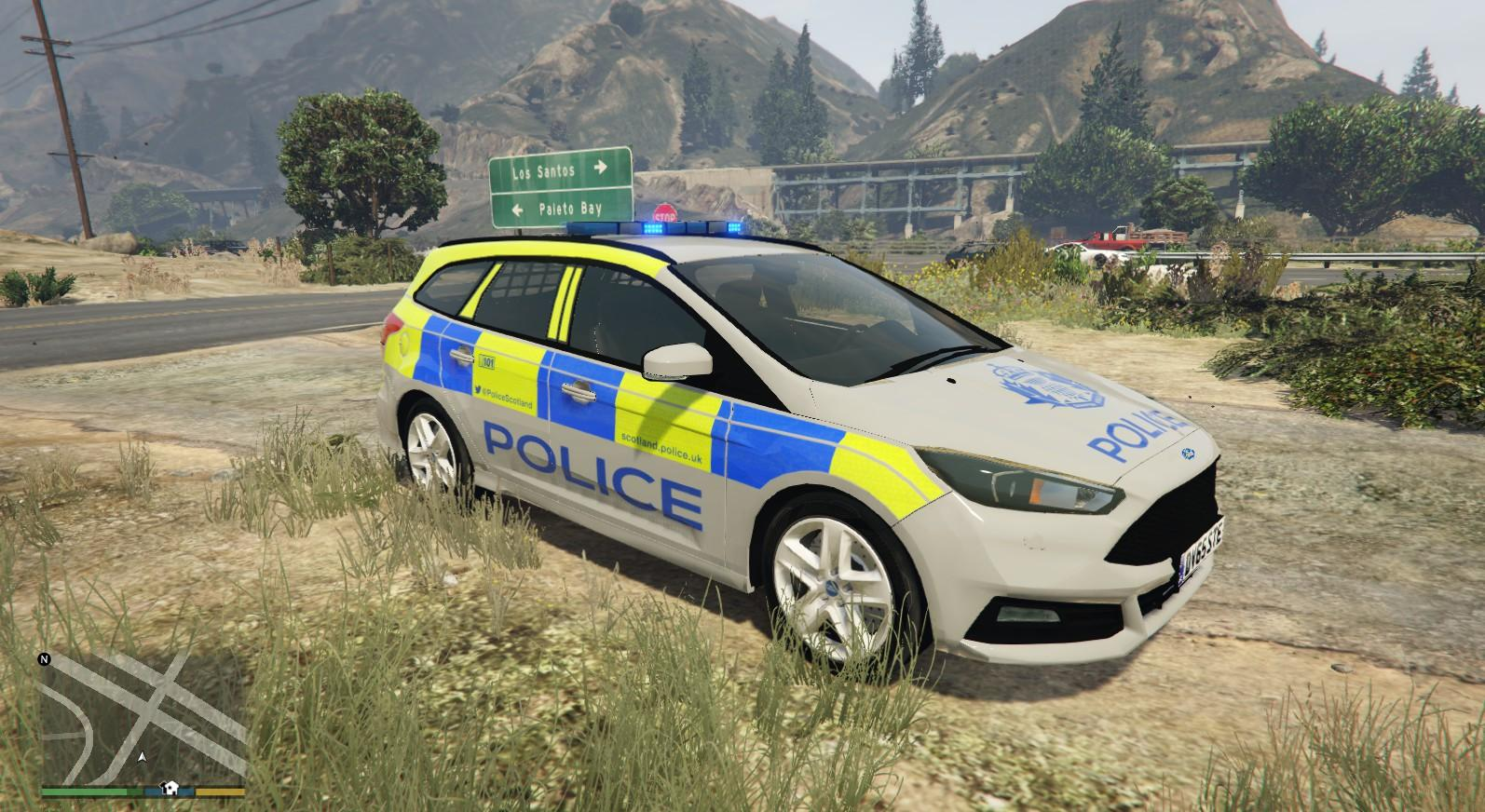 Police Scotland Ford Focus St Gta5 Mods Com