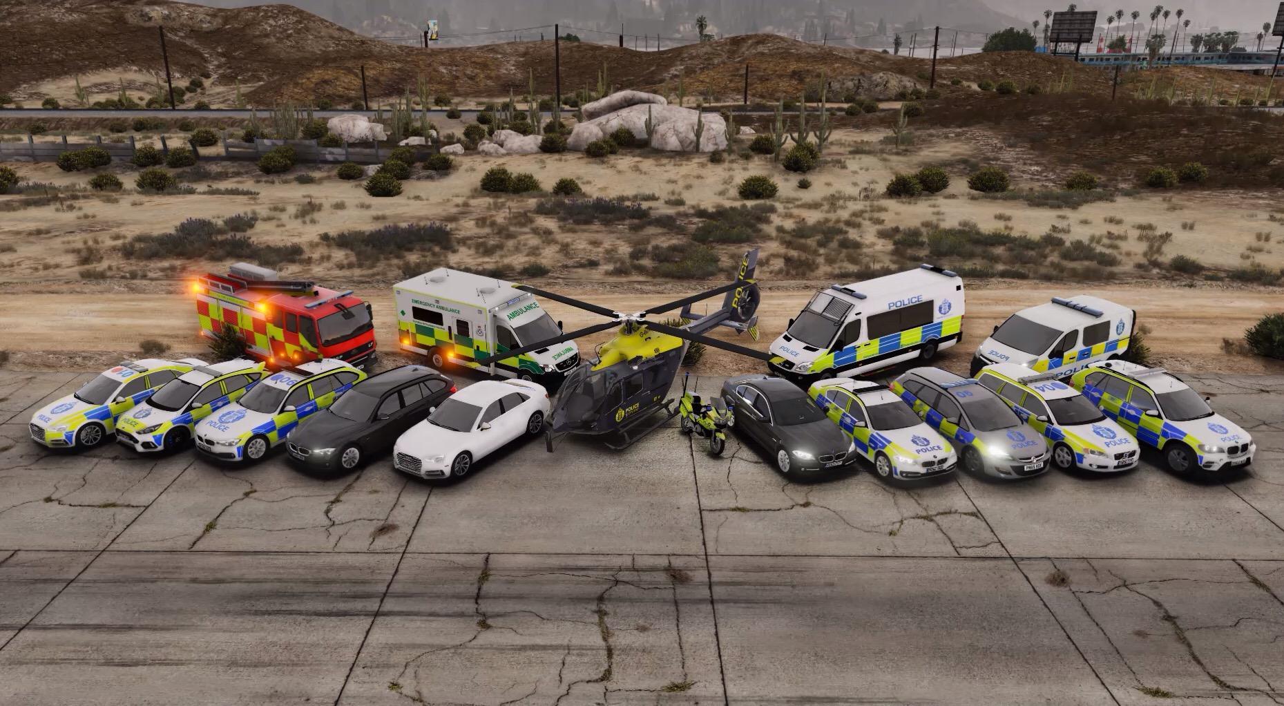 Police Scotland Vehicle Pack [OIV] - GTA5-Mods com