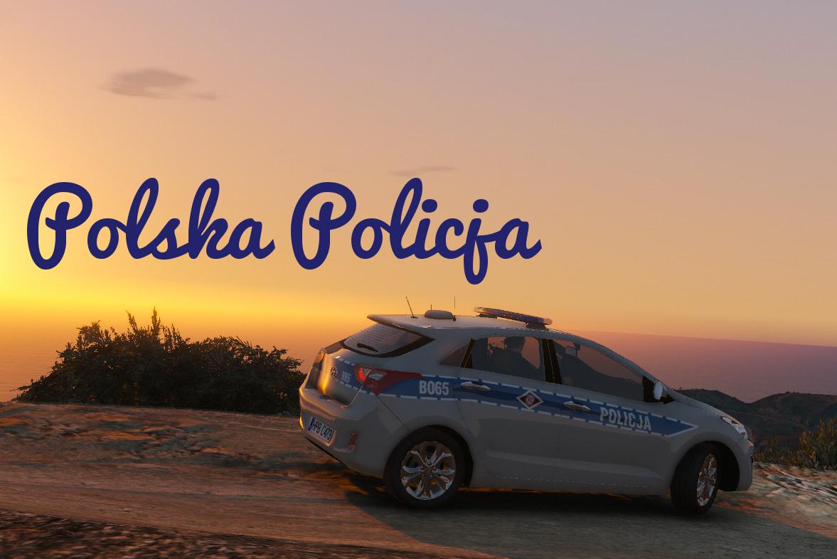 Polish Police Hyundai I30 Polska Policja Gta5 Mods Com