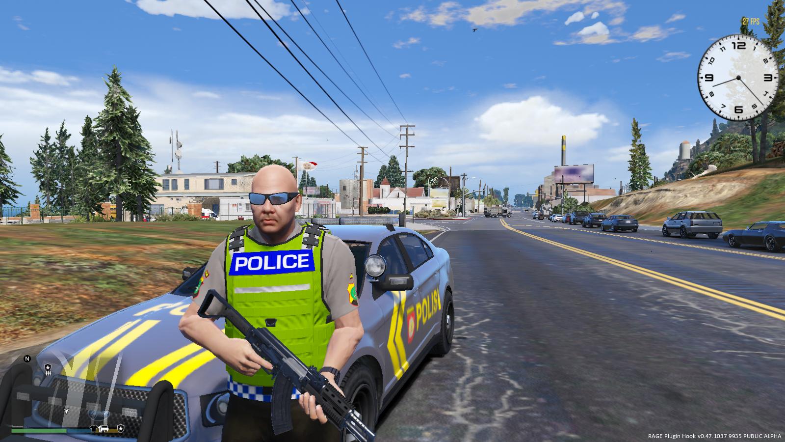 Polisi Indonesia Gta5 Mods Com
