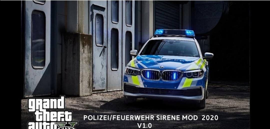 Unterschied Sirene Polizei Krankenwagen Feuerwehr