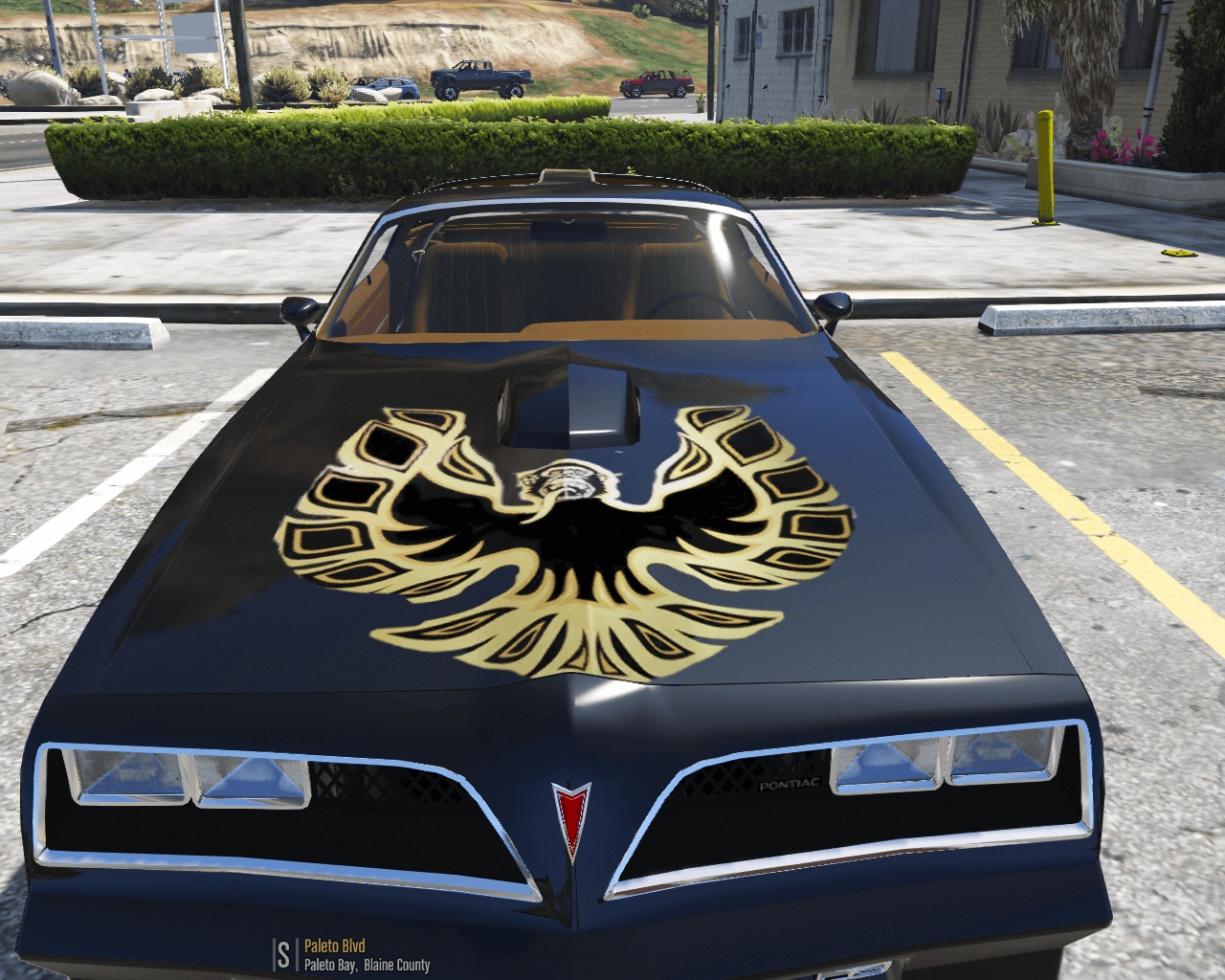"Subaru Wrx Custom >> Pontiac Trans Am ""Gas Monkey Edition"" - GTA5-Mods.com"