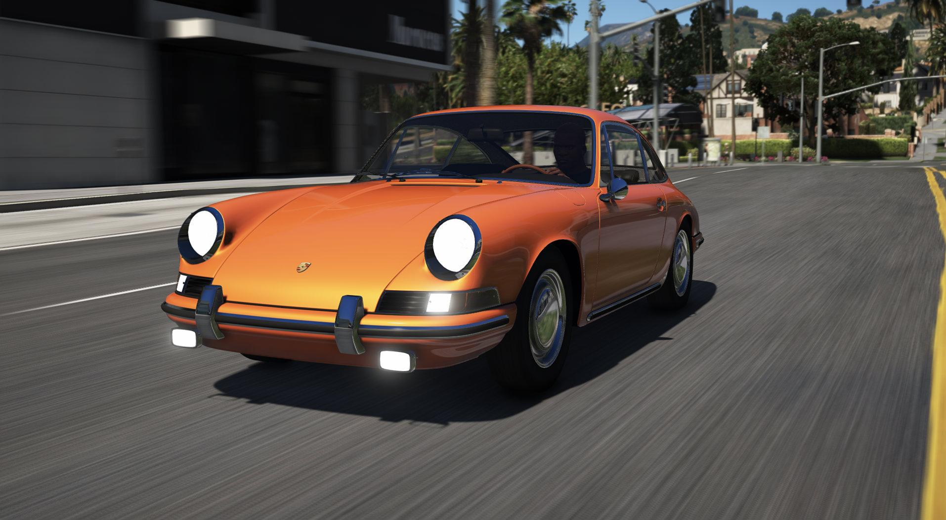 porsche 911 type 901 1964 add on replace unlock gta5. Black Bedroom Furniture Sets. Home Design Ideas