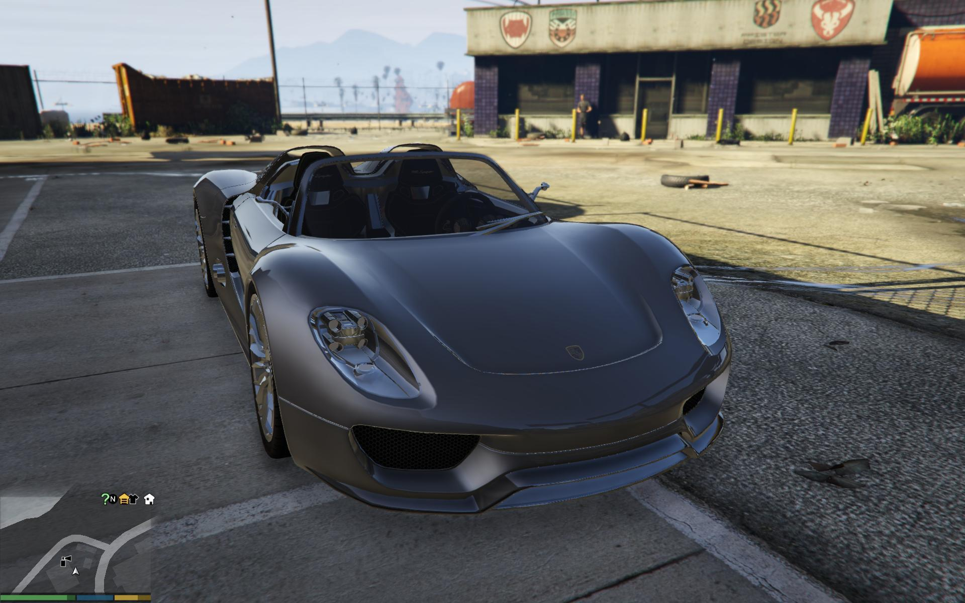 porsche 918 spyder gta5. Black Bedroom Furniture Sets. Home Design Ideas