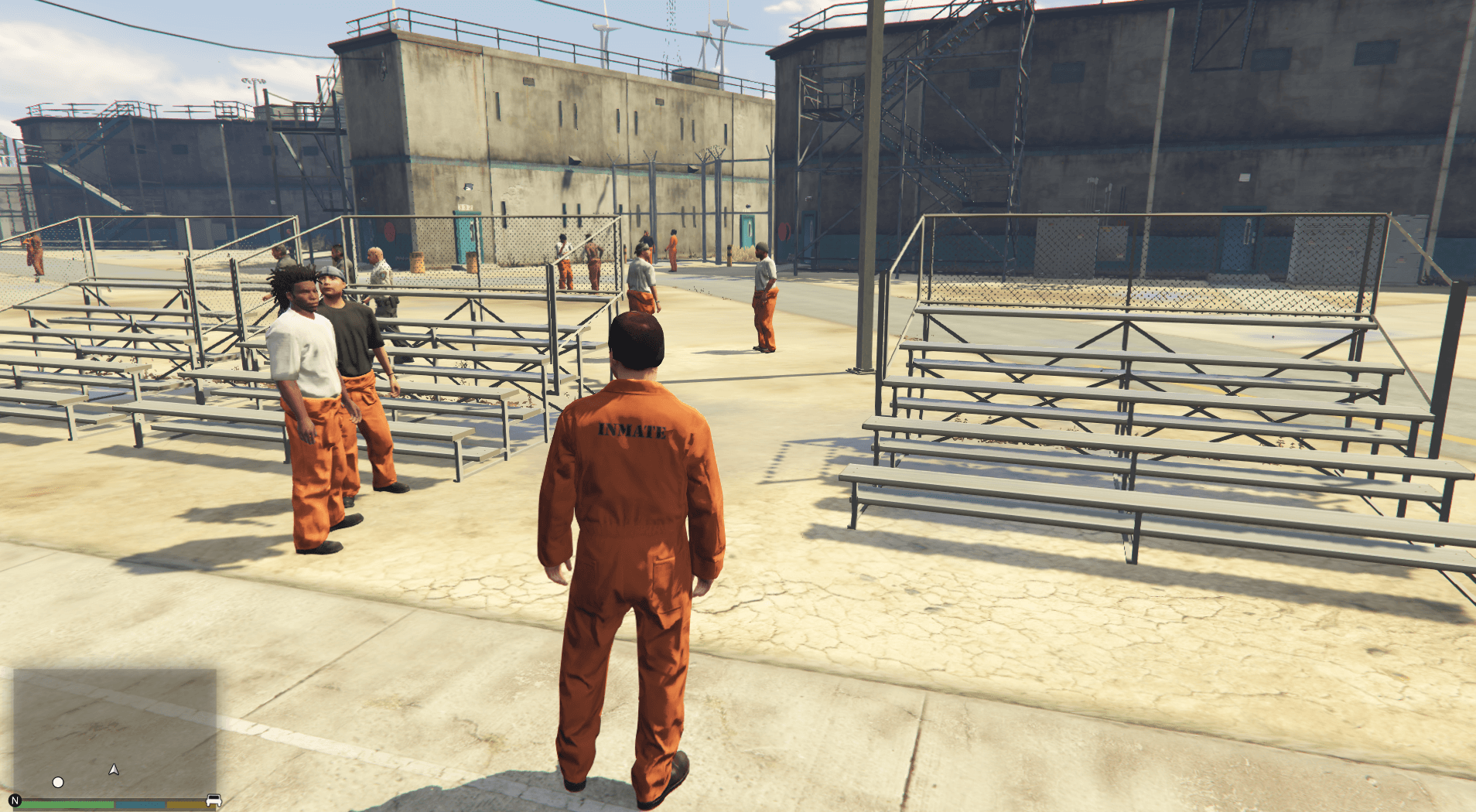 gta online how to start prison break