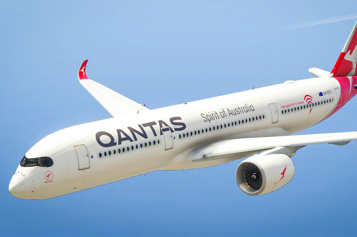 Qantas Airbus A350 - GTA5-Mods.com