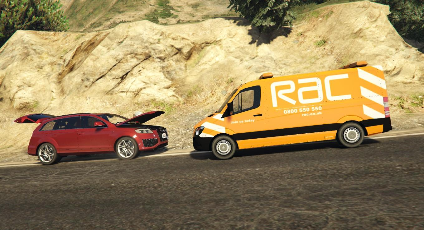 rac mercedes sprinter livery gta5. Black Bedroom Furniture Sets. Home Design Ideas