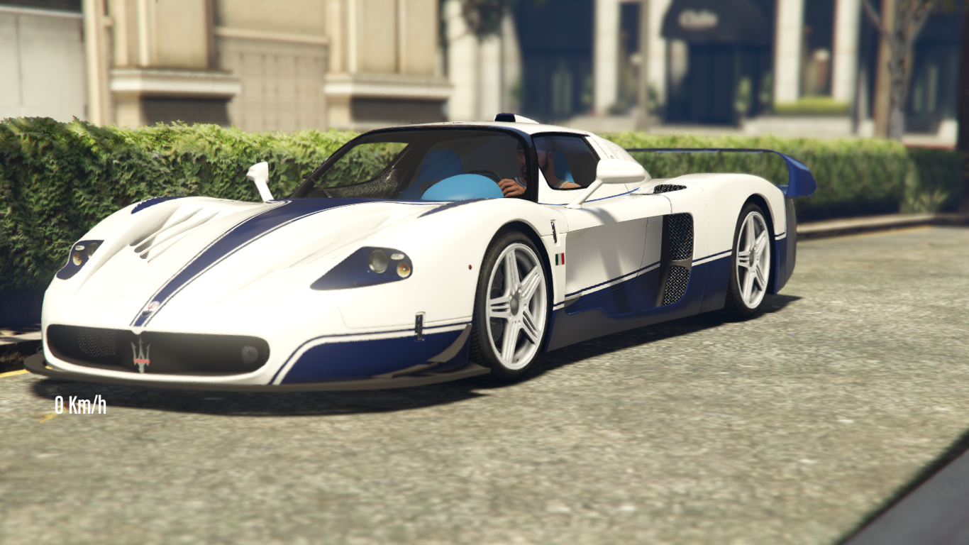 Race Car Handling For Maserati Mc12 Gta5 Mods Com