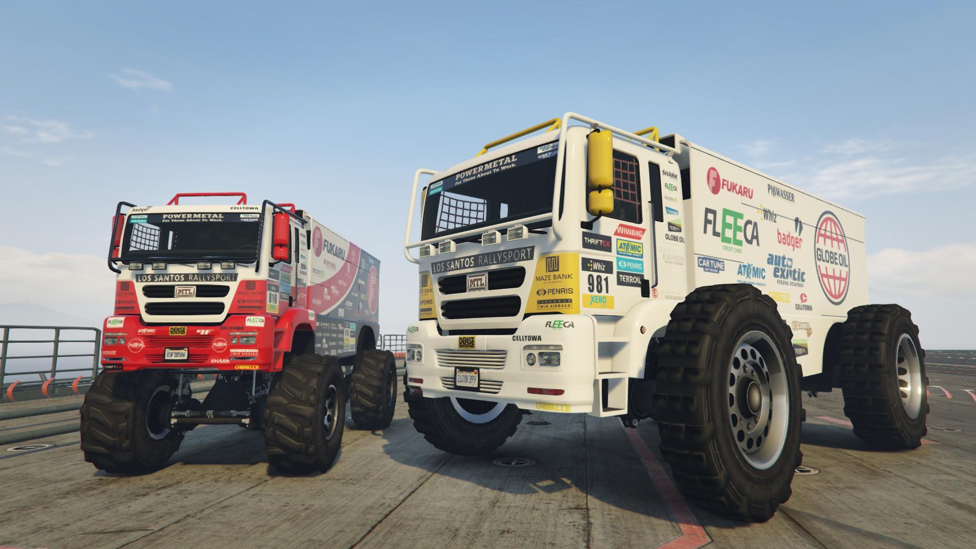 rally truck add on replace gta5. Black Bedroom Furniture Sets. Home Design Ideas