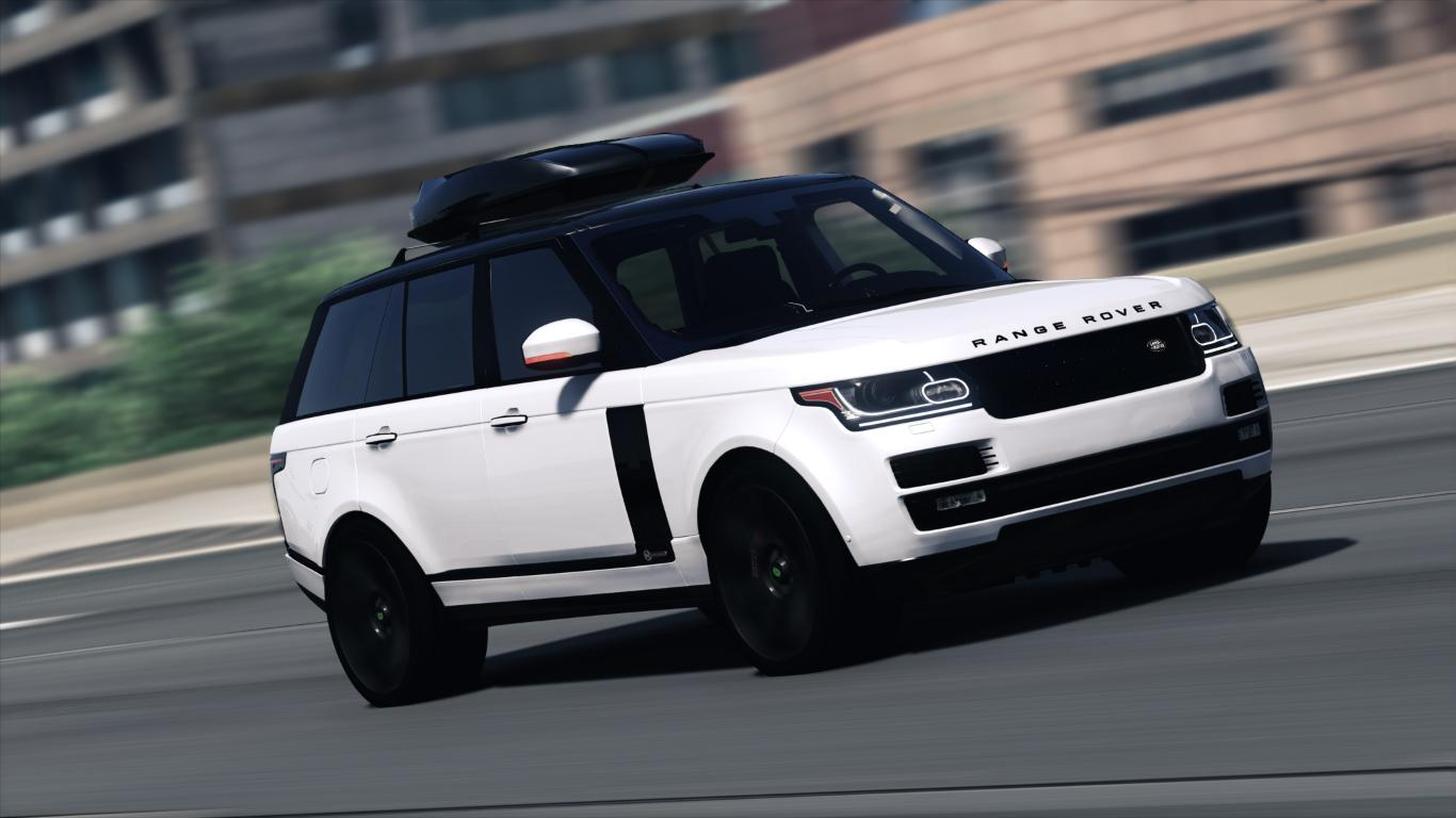 Range Rover Svautobiography Dynamic 2017 Add On Replace