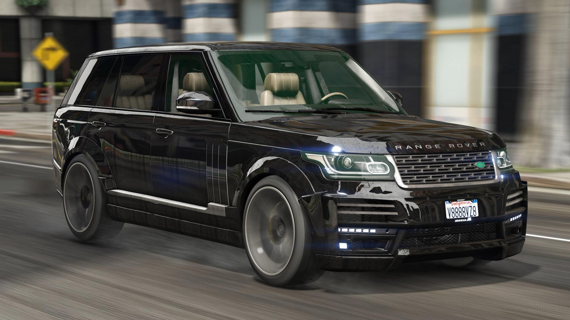 range rover vogue startech add on tuning gta5. Black Bedroom Furniture Sets. Home Design Ideas