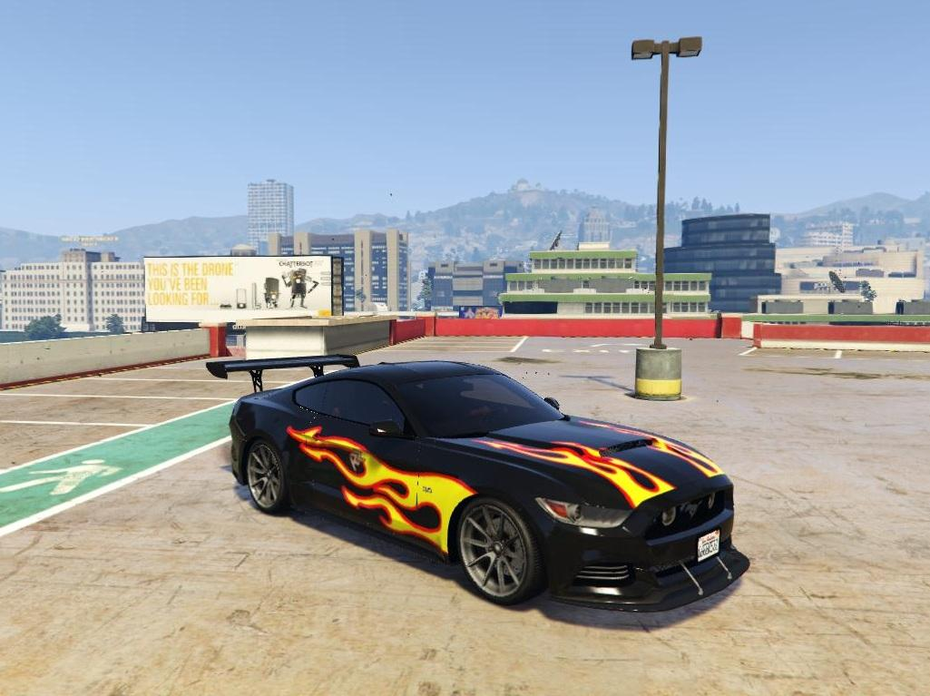 Razor Most Wanted Livery For Mustang Gta5modsrhgta5mods: Ford Mustang Gta 5 Location At Gmaili.net