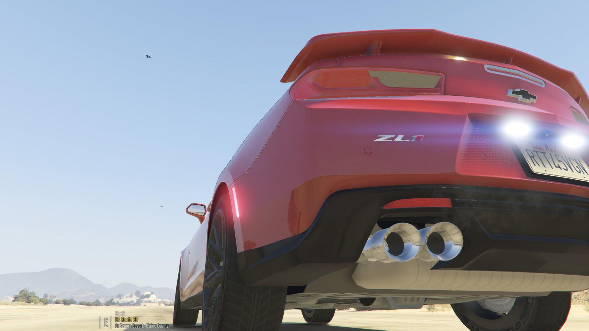 Real Camaro Zl1 Sound Gta5 Mods Com