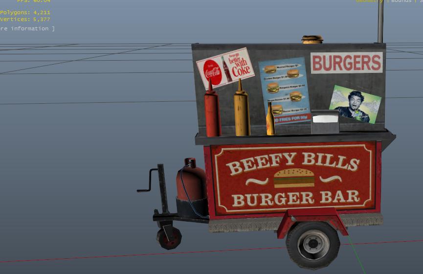 Real-Life Burger and Hotdog Stands - GTA5-Mods com